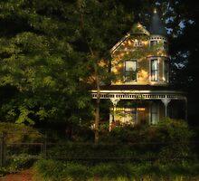 spooky girl in the window by Jack Wilson