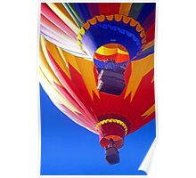 2 Hot Air Balloons Poster