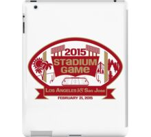 2015 SF Stadium Game iPad Case/Skin
