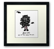 Bat Girl Framed Print