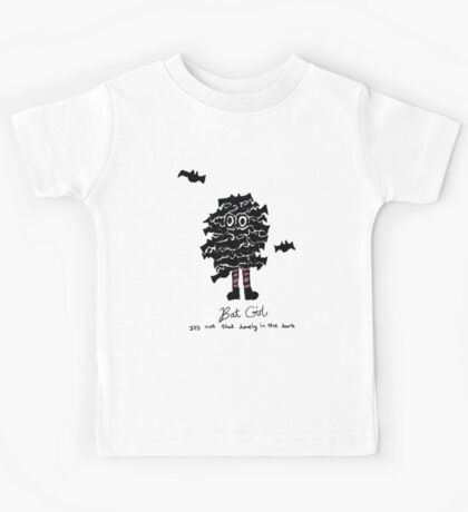 Bat Girl Kids Tee