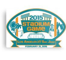 2015 SJ Stadium Game Metal Print