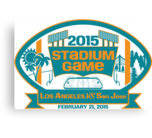 2015 SJ Stadium Game Canvas Print
