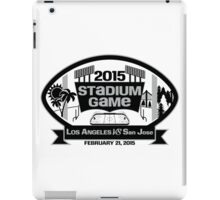 2015 LA Stadium Game - Black Text iPad Case/Skin