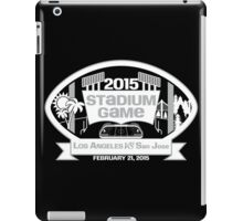 2015 Stadium Game - White Text iPad Case/Skin