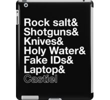 Hunter tools iPad Case/Skin