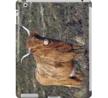 Cow in Field  iPad Case/Skin