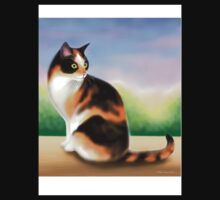 Calico Cat at Sunset Kids Clothes