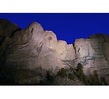 Mount Rushmore National Memorial ll Photographic Print