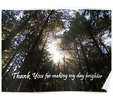 Making My Day Brighter (Thank You)  Poster