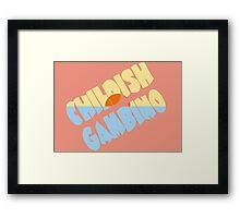 Childish Gambino Kauai Framed Print