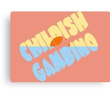 Childish Gambino Kauai Canvas Print