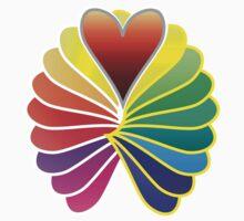 Rainbow Hearts by fashionforlove