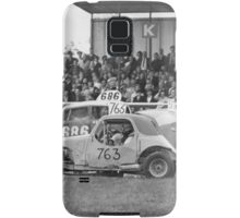 Stock car racing past 2 Samsung Galaxy Case/Skin