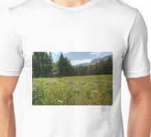 Glacier National Park Wild Flowers3 Unisex T-Shirt