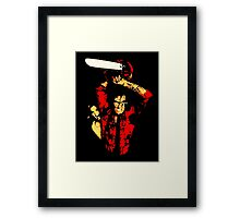 Weapon of choice. Framed Print