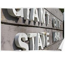 Giant City State Park Poster