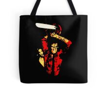 Weapon of choice. Tote Bag