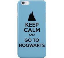 Keep Calm And Go To Hogwarts iPhone Case/Skin