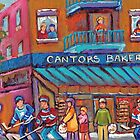 CANADIAN ART PAINTINGS OF KIDS PLAYING HOCKEY CANADIAN CULTURE  by Carole  Spandau