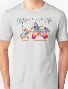 Magic Merry Go Round Ponies TShirt T-Shirt