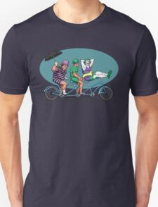 Bat Baddies Biking By the Beach T-Shirt