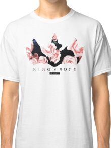 King's Rock Crown Floral Classic T-Shirt