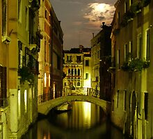 Venice by night by Simon Geddes