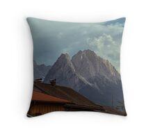 Zugspitze Throw Pillow