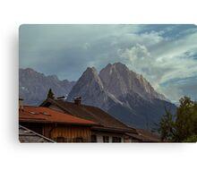 Zugspitze Canvas Print