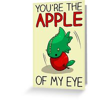 Apple of my Eye Greeting Card