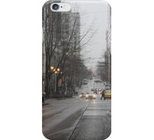 Busy Seattle City Streets iPhone Case/Skin