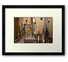Pulpit Framed Print