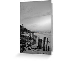 lennox head seven mile beach_2 Greeting Card