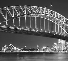 Sydney Harbour Bridge by Simon Geddes