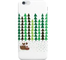 One Fox, Two Foxes iPhone Case/Skin