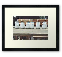 Ice, Ice, Baby. Framed Print