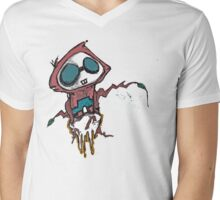 Gui the fishing ghost. Mens V-Neck T-Shirt