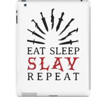 Eat Sleep SLAY Repeat iPad Case/Skin