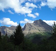 Glacier National Park by Julene Mendenhall