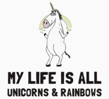 Unicorns And Rainbows Kids Clothes