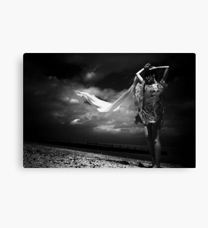 Catching the breeze Canvas Print