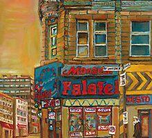 CANADIAN CITY SCENES MONTREAL ART BY CANADIAN ARTIST CAROLE SPANDAU by Carole  Spandau