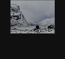 the highlands winter Unisex T-Shirt