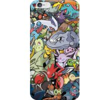 Gen II - Pokemaniacal Colour iPhone Case/Skin