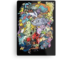 Gen II - Pokemaniacal Colour Metal Print