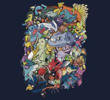 Gen II - Pokemaniacal Colour Kids Clothes