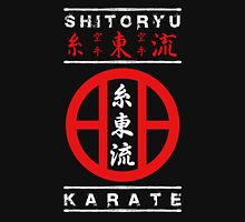 Shitoryu Karate (white text) Unisex T-Shirt