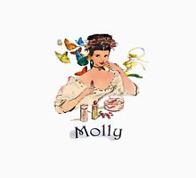 Personalised `Molly' design Womens Fitted T-Shirt