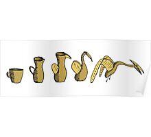 Coffee Evolution Poster